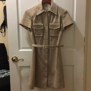 Dresses & Skirts - Vintage shirt dress with belt